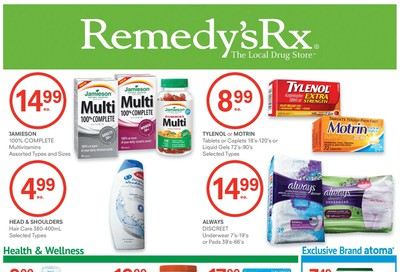Remedy's RX Flyer July 31 to August 27