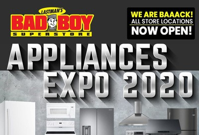 Lastman's Bad Boy Superstore Appliances Flyer July 30 to August 31