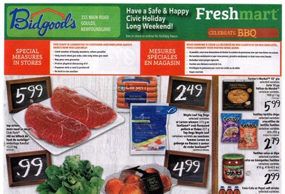 Bidgood's Flyer July 30 to August 5