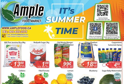 Ample Food Market Flyer July 31 to August 6