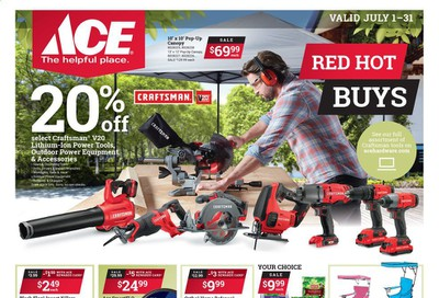 ACE Hardware Weekly Ad July 1 to July 31