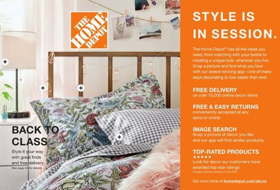 The Home Depot Weekly Ad July 6 to September 6