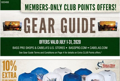 Bass Pro Shops Weekly Ad July 1 to July 31