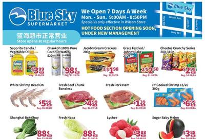 Blue Sky Supermarket (North York) Flyer July 31 to August 6