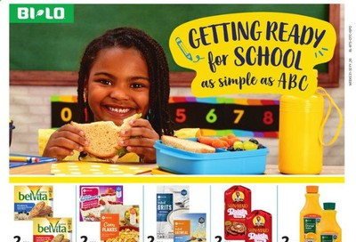 BI-LO Weekly Ad July 22 to August 4