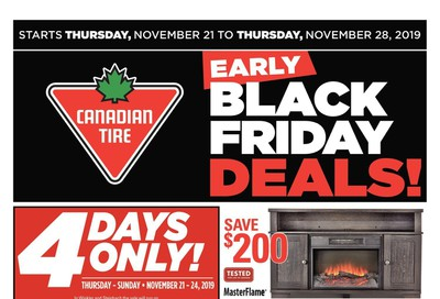 Canadian Tire (ON) Flyer November 21 to 28
