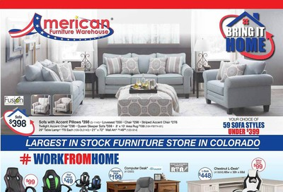 American Furniture Warehouse (CO) Weekly Ad July 26 to August 1