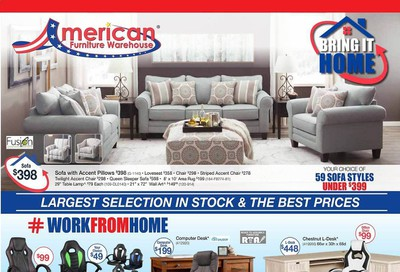 American Furniture Warehouse (TX) Weekly Ad July 26 to August 1