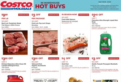 Costco Weekly Ad July 25 to August 2