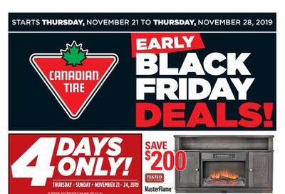 Canadian Tire (West) Flyer November 21 to 28