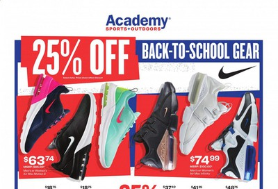 Academy Sports Weekly Ad July 27 to August 2