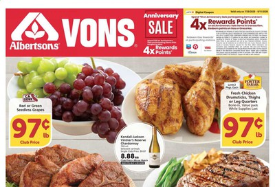 Albertsons Weekly Ad July 29 to August 4