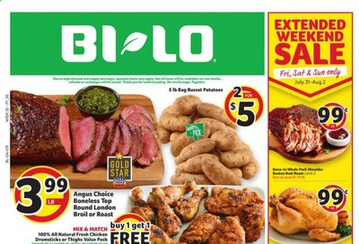 BI-LO (GA) Weekly Ad July 29 to August 4