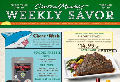 Central Market Weekly Ad July 29 to August 4
