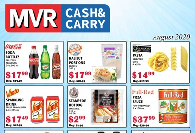 MVR Cash and Carry Flyer August 1 to 31