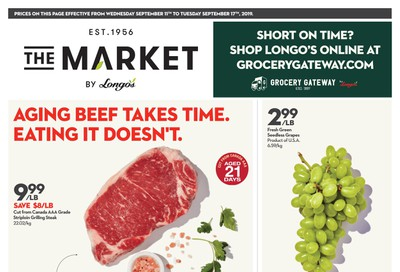 The Market by Longo's Flyer September 11 to 17