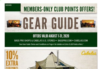 Bass Pro Shops Weekly Ad August 1 to August 31