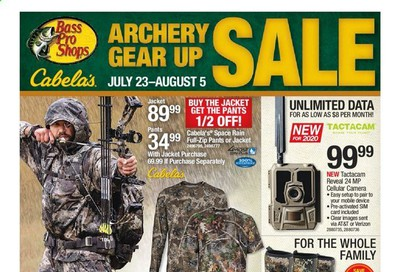 Bass Pro Shops Weekly Ad July 23 to August 5
