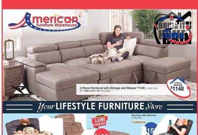 American Furniture Warehouse (AZ) Weekly Ad August 2 to August 8