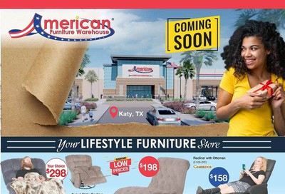 American Furniture Warehouse (TX) Weekly Ad August 2 to August 8