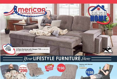 American Furniture Warehouse (CO) Weekly Ad August 2 to August 8