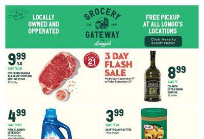 Longo's Grocery Gateway Flyer September 11 to 17