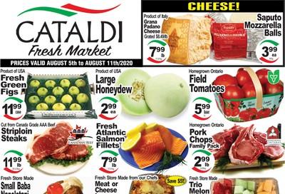 Cataldi Fresh Market Flyer August 5 to 11