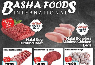 Basha Foods International Flyer July 23 to August 5