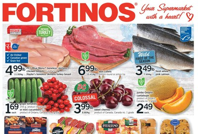 Fortinos Flyer August 6 to 12