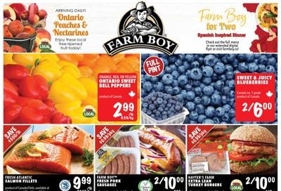 Farm Boy Flyer August 6 to 12