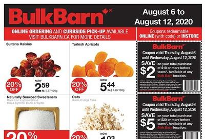Bulk Barn Flyer August 6 to 12