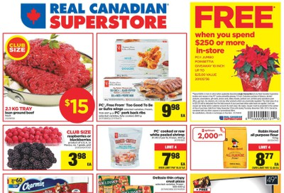 Real Canadian Superstore (West) Flyer November 22 to 28