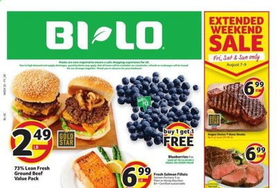 BI-LO (SC) Weekly Ad August 5 to August 11