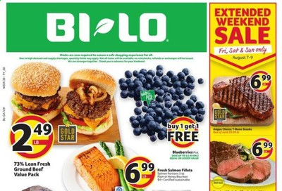 BI-LO (GA) Weekly Ad August 5 to August 11