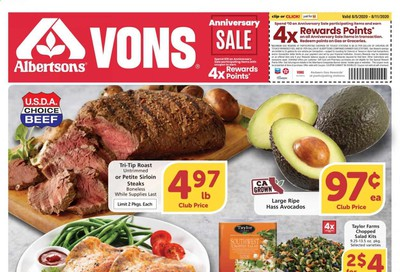 Albertsons Weekly Ad August 5 to August 11