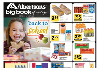 Albertsons Weekly Ad August 5 to September 1