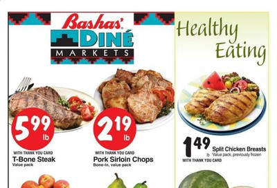 Bashas (AZ, NM) Weekly Ad August 5 to August 11