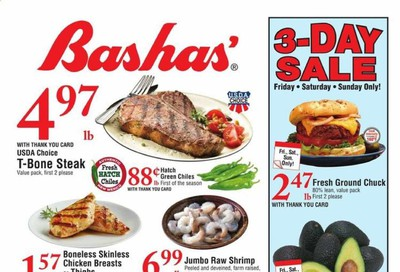 Bashas (AZ) Weekly Ad August 5 to August 11