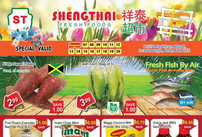 Shengthai Fresh Foods Flyer August 7 to 20