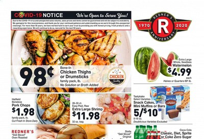 Redner's Markets Weekly Ad August 6 to August 12