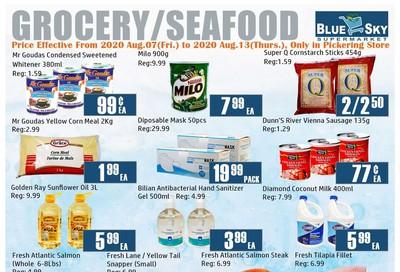 Blue Sky Supermarket (Pickering) Flyer August 7 to 13