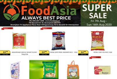 FoodAsia Flyer August 7 to 16
