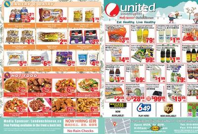 United Supermarket Flyer November 21 to 27