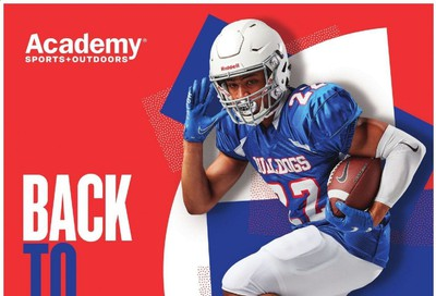 Academy Sports Weekly Ad July 20 to August 30