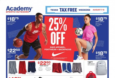 Academy Sports Weekly Ad August 7 to August 9