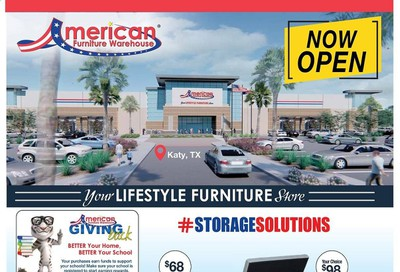 American Furniture Warehouse (TX) Weekly Ad August 9 to August 15
