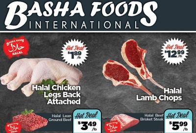 Basha Foods International Flyer August 6 to 19