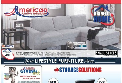 American Furniture Warehouse (CO) Weekly Ad August 9 to August 15
