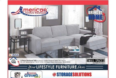 American Furniture Warehouse (AZ) Weekly Ad August 9 to August 15