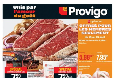 Provigo Flyer August 13 to 19